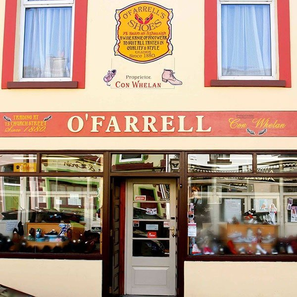 O'Farrell's Shoe Store Listowel