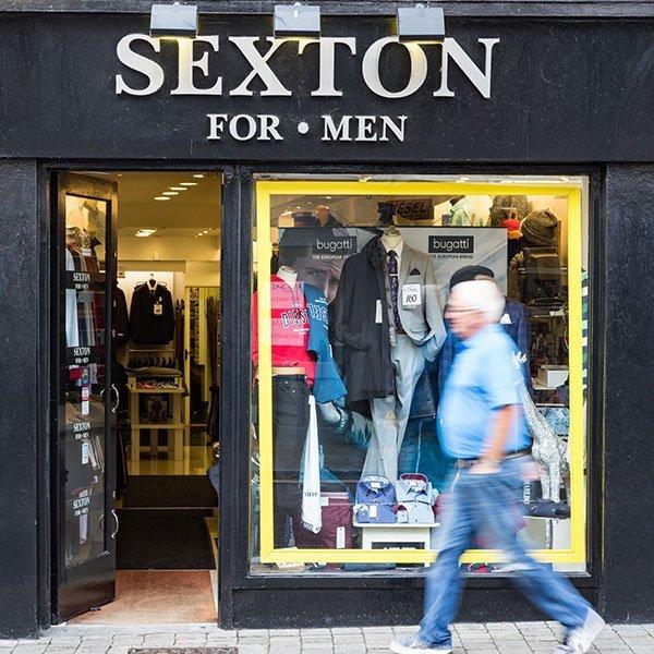 Sextons Menswear
