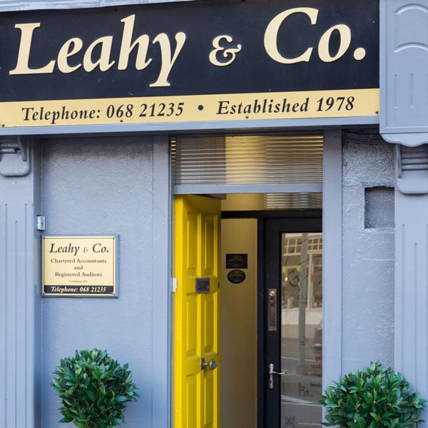 Leahy and co accountants Listowel